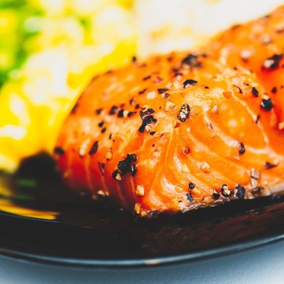 Salmon Ready Meal